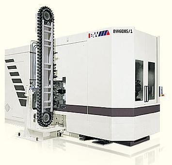 BW60HS/1系列高速卧式加工中心